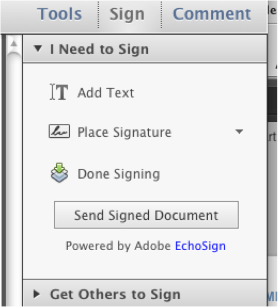 how to create an electronic signature in adobe x